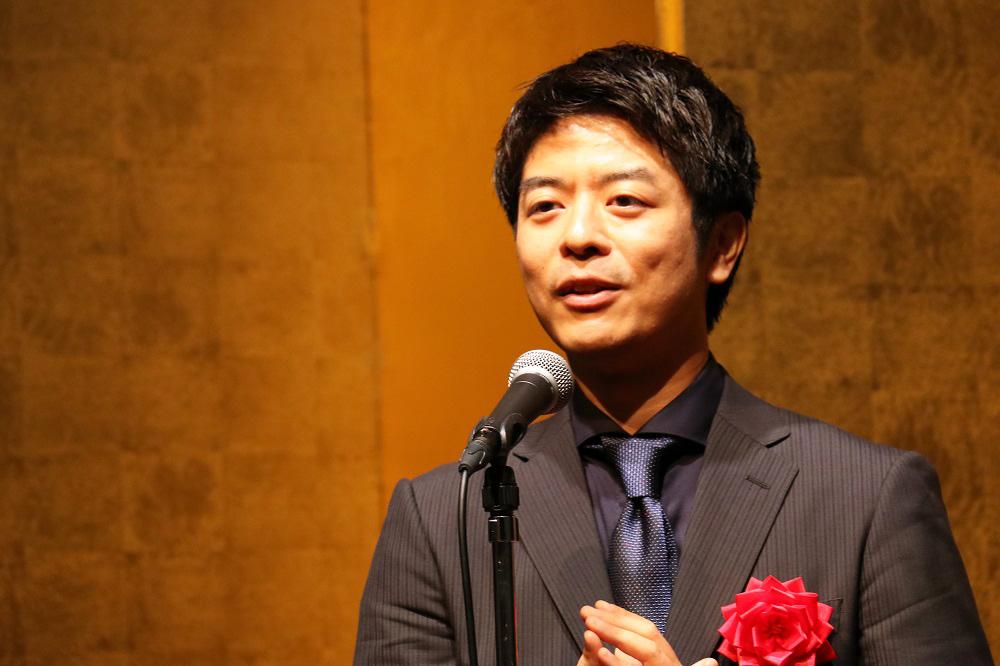 第24回松本清張賞授賞式の様子